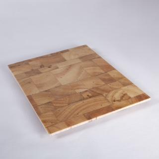 Fig. 3_Esempio di struttura a sandwich con legno di balsa