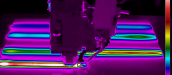 CETMA - Thermal imaging camera applied to an induction welding process