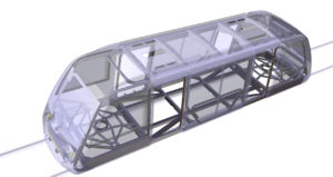 The Brainstorm project: rail vehicle frame