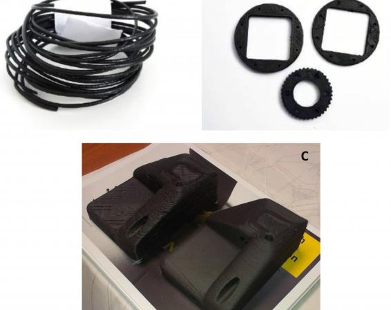 Samples FFF 3D printing